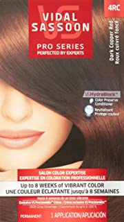 Vidal Sassoon Pro Series Hair Color --dark copper red(4rc)
