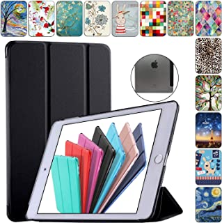 """DuraSafe Cases for iPad 4/3 / 2-9.7"""" A1458 A1459 A1460 A1403 A1416 A1430 A1395 A1396 A1397 Smart Tri Fold Cover with Trans..."""