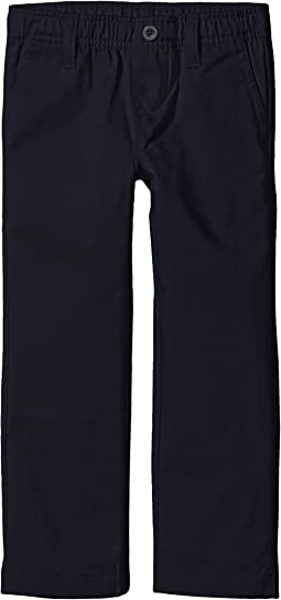 Elastic Waist Pull-On Twill Pants (Little Kids/Big Kids)