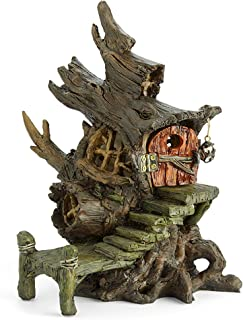 "Miniature Fairy Garden ""Mystic Marsh Swamp Shack"" House"