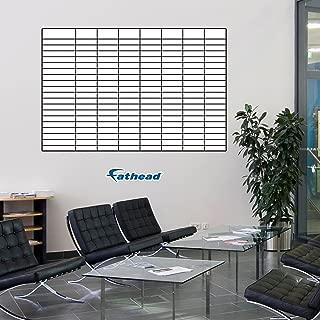 Fathead Wall Decal, Sales Goal Tracking Whiteboard