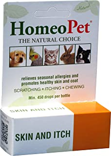 Homeo Pet Skin and Itch Relief - 0.08 fl oz