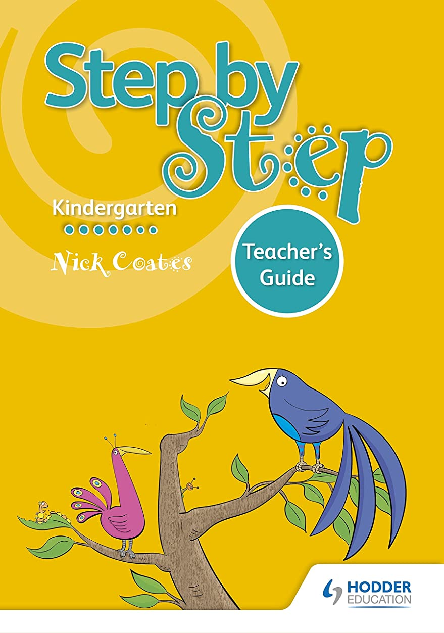 矛盾する怠惰ハグStep by Step K Teacher's Guide (English Edition)