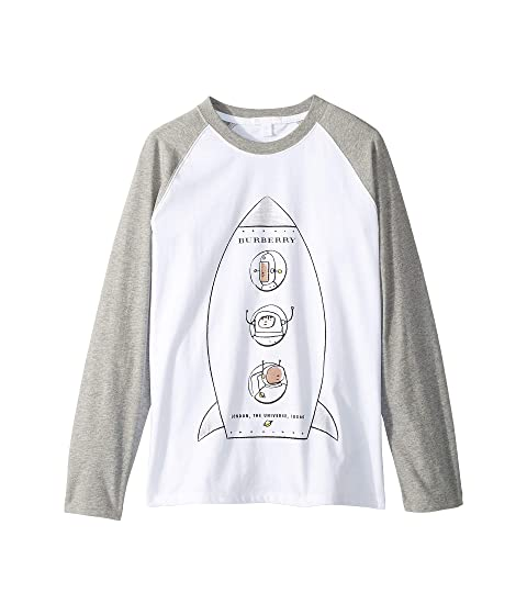 Burberry Kids Rocket Long Sleeve Tee (Little Kids/Big Kids)