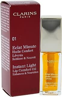 Clarins Instant Light Lip Comfort Oil - # 01 Honey, 7 ml