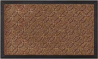 GRIP MASTER Durable Tough Natural Rubber Doormats, 29x17 Size, Waterproof Boots Scraper Mats, Heavy Duty Indoor Outdoor Do...