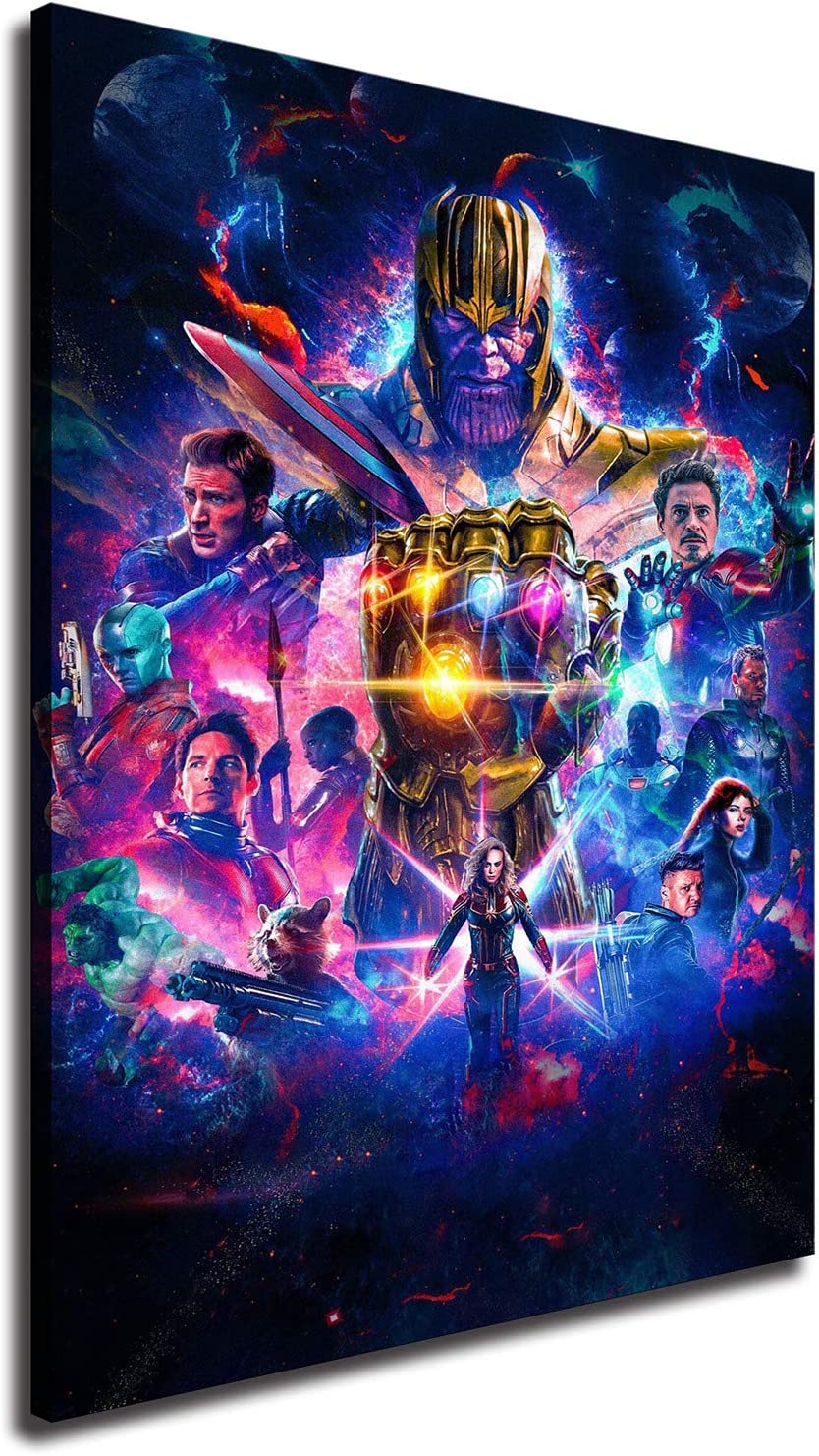 35% OFF Avengers Posters High-Definition Canvas Boston Mall Print for S Art