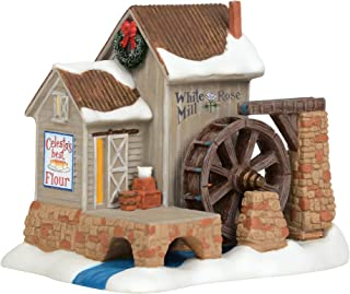 Department 56 New England Village White Rosse Mill Lit House