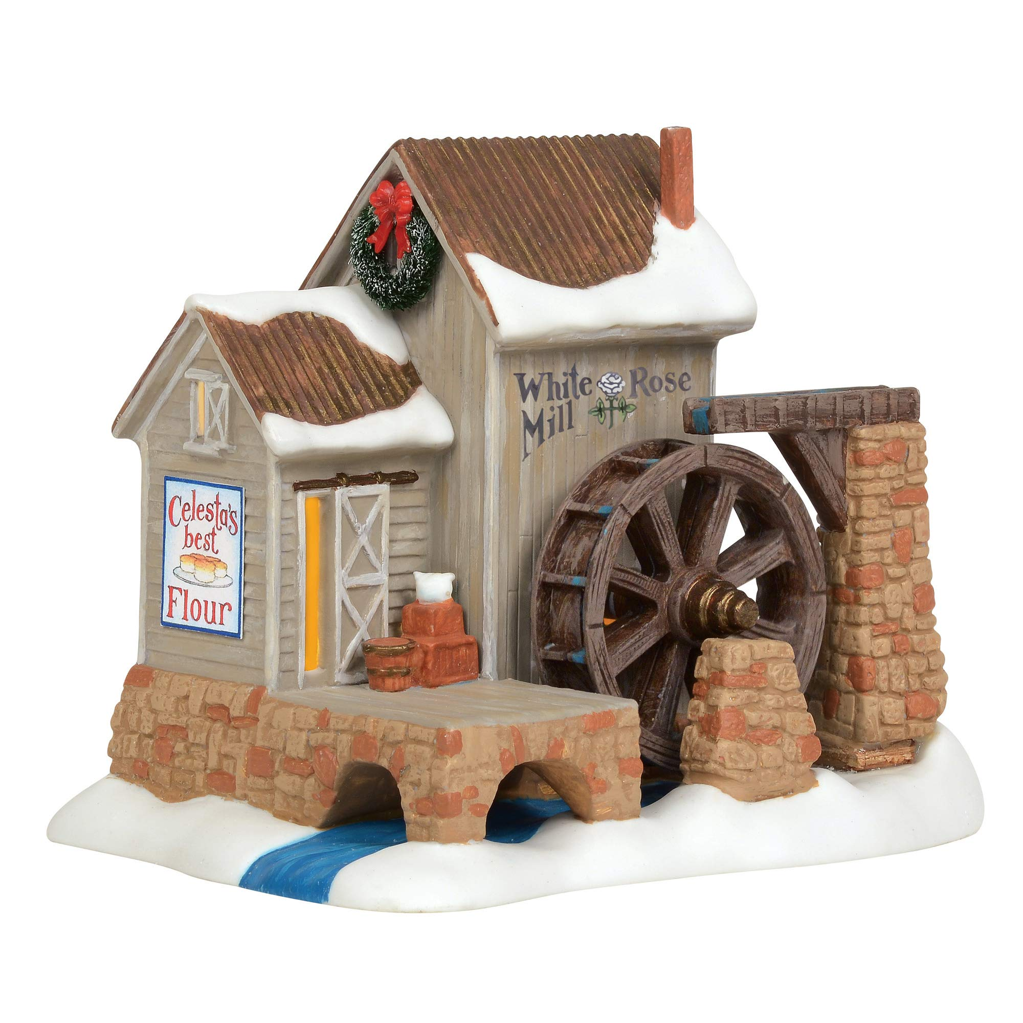 1.18 inch Department 56 New England Village All is Safe Where All Can Read Accessory Figurine