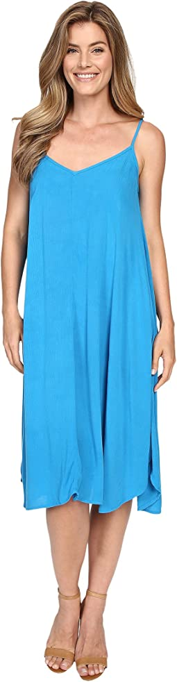 Vee Cami Mid-Length Dress