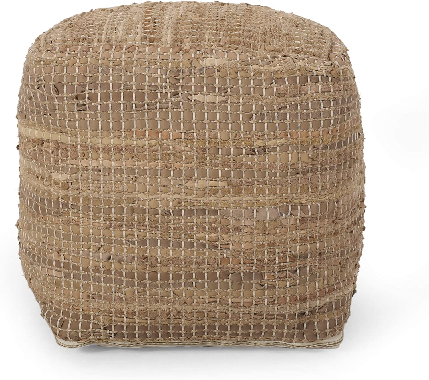 Christopher 100%品質保証 春の新作続々 Knight Home Tan Pouf Tremont