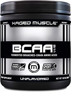 Kaged Muscle, Fermented BCAA Powder, Plant Based, Non-GMO, Protein Synthesis, Vegan Friendly Branched Chain Amino Acids, A...