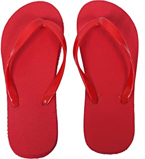 RealKing Red Women's House Slippers
