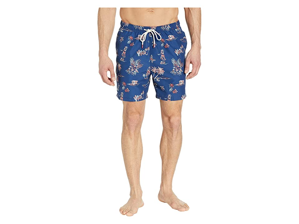 Tommy Bahama Naples Hula Hut Swim Trunks (Throne Blue) Men