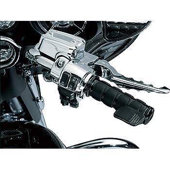 Kuryakyn 6337 ISO Grips Gloss Black