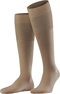 Falke Mens Sand Airport Knee High Socks - Beige - Medium