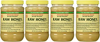 Y.s. Eco Bee Farms Raw Honey - 22 Oz Jars (4 Count (22oz Each))