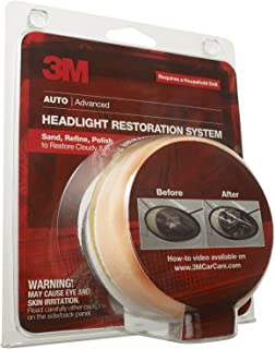 3M 39008 Headlight Lens Restoration System 2-Pack