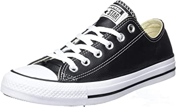 all black leather converse low tops