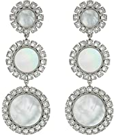 Tory Burch - Deco Flower Drop Earrings