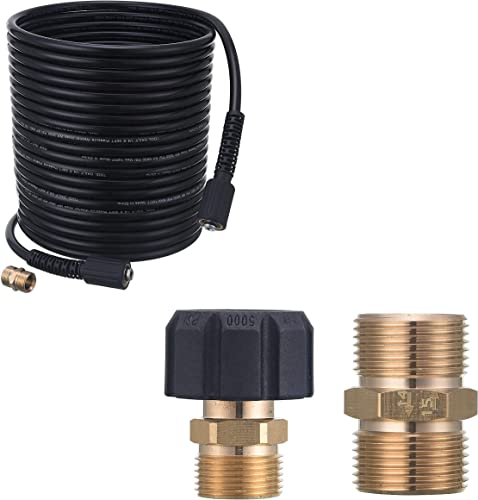 wholesale Tool Daily high quality Pressure Washer high quality Adapter, High Pressure Washer Hose 50 FT X 1/4 Inch sale
