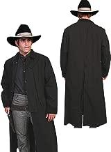 Rangewear By Scully Men's Long Canvas Duster - Rw107 Walnut