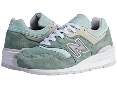 New Balance Classics Made in USA 997 (Green/White) Men