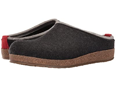 Haflinger Kris (Charcoal) Clog Shoes