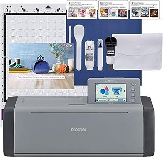 Brother ScanNCut SDX125EGY Machine de découpe électronique avec scanner, faire des autocollants sur mesure, art mural en v...