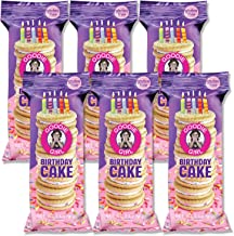 Goodie Girl Cookies, Birthday Cake Sandwich Gluten Free Cookies, Individually Wrapped Snack Pack Cookies, Peanut Free, Kosher, Delicious Snack Cookies (3oz Bag, Pack of 6)