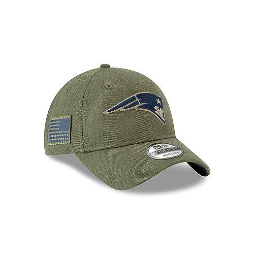 New Era Mens NFL 2018 Salute to Service 9Twenty Strapback Hat ad6bce59f590
