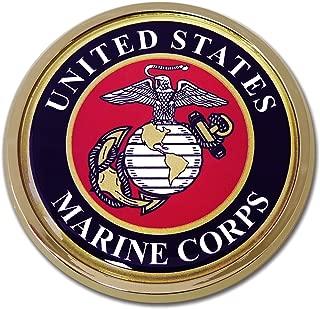 Elektroplate Marine Seal Chrome Auto Emblem