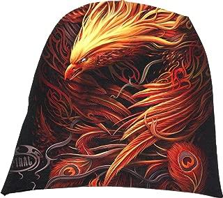 Mens - Phoenix Arisen - Light Cotton Beanies Black