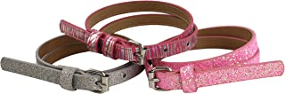 On the Verge Little 3 Pack Girls' Belts