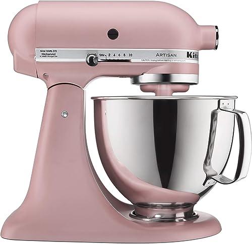 wholesale KitchenAid lowest Artisan Stand Mixer, 5 quart, Dried online sale Rose outlet online sale