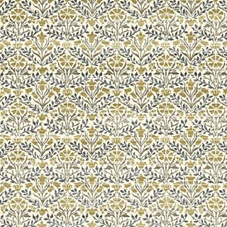 Blue marigold original wallpaper artwork by William Morris  4 sizes Retro Faux Suede Square Pillow Case