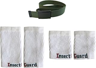 InsectGuard Permethrin Treated Tick & Mosquitoes Insect Repellent Complete Package 3 - GW74 (Gree/White) One Size Fits All Up to Adult Medium