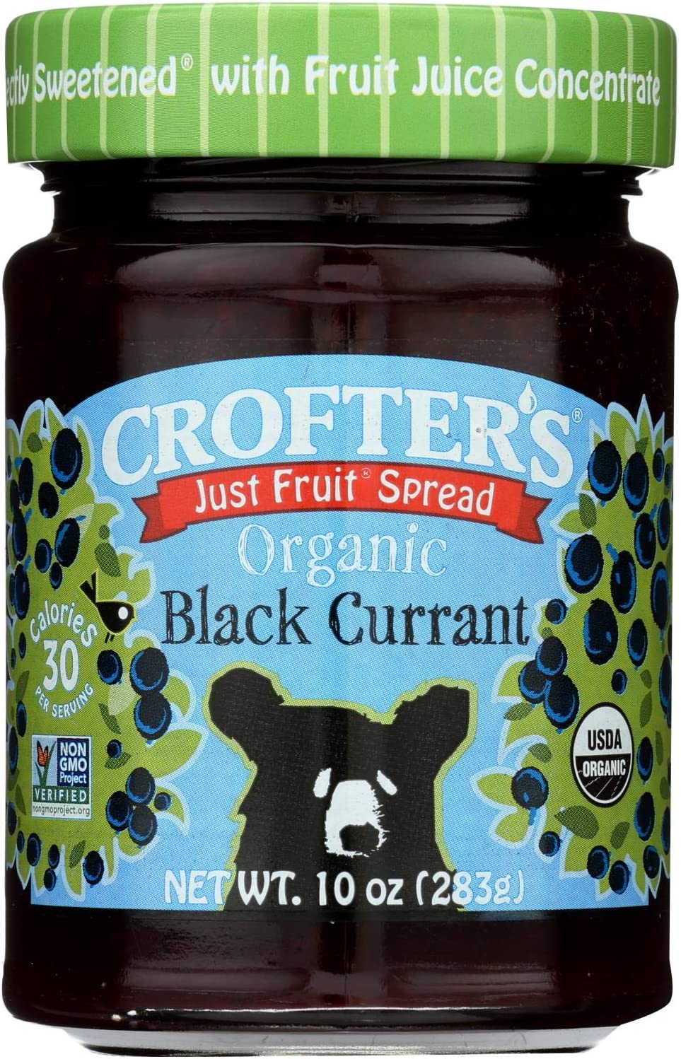 Sale SALE% OFF Crofters Fees free Fruit Spread - Organic Currant Black 1 Just