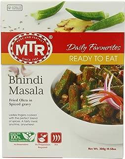MTR Bhindi Masala, 10.58-Ounce Boxes (Pack of 10)