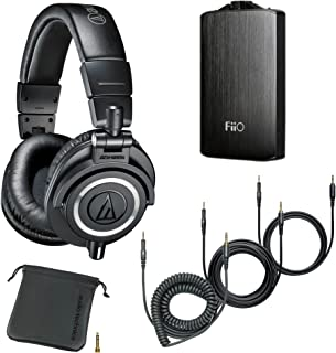 $188 » Audio-Technica ATH-M50x Monitor Headphones (Black) (with Amp)