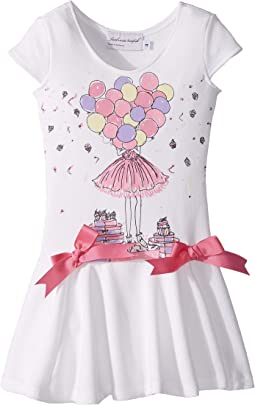 fiveloaves twofish - Birthday Savannah Dress (Toddler/Little Kids/Big Kids)