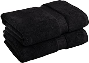 Superior 900 GSM Luxury Bathroom Towels, Made of 100% Premium Long-Staple Combed Cotton, Set of 2 Hotel & Spa Quality Bath...