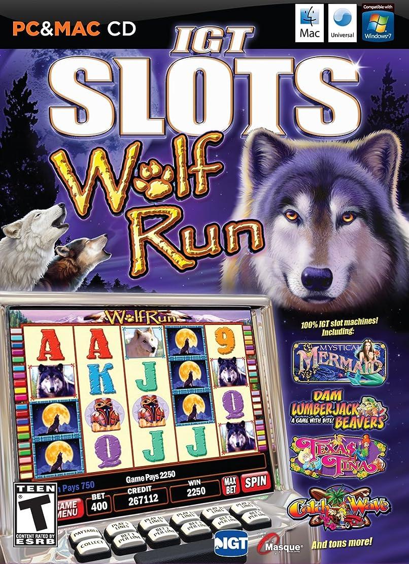 手錠に同意する飾るIGT Slots: Wolf Run (輸入版)
