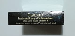 Mariage Freres - CHAMOMILLA Wild chamomile flowers - Organic garden artisan herbal tea (NEW!) (TB551) - 30 Muslin Tea Sachet / bags
