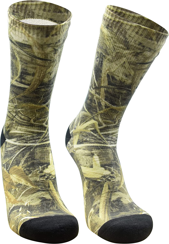 DexShell 100% Waterproof Socks for Men and Women Breathable Crew Max-5 StormBLOK Socks