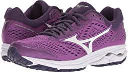 84d09abc0c6 Mizuno wave rider 17 purple plumeria white shocking pink