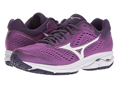 Mizuno Wave Rider 22 (Bright Violet/Purple Plumeria) Women