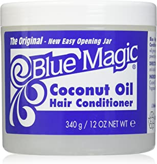Blue Magic Coconut Oil Hair Conditioner 12 oz ( Pack of 3)