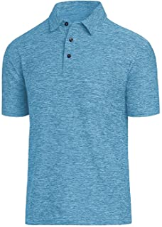 COSSNISS Men`s Dry Fit Golf Polo Shirt