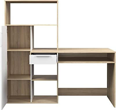 Amazon.com: Furinno 99914R1LC/BK Econ Multipurpose